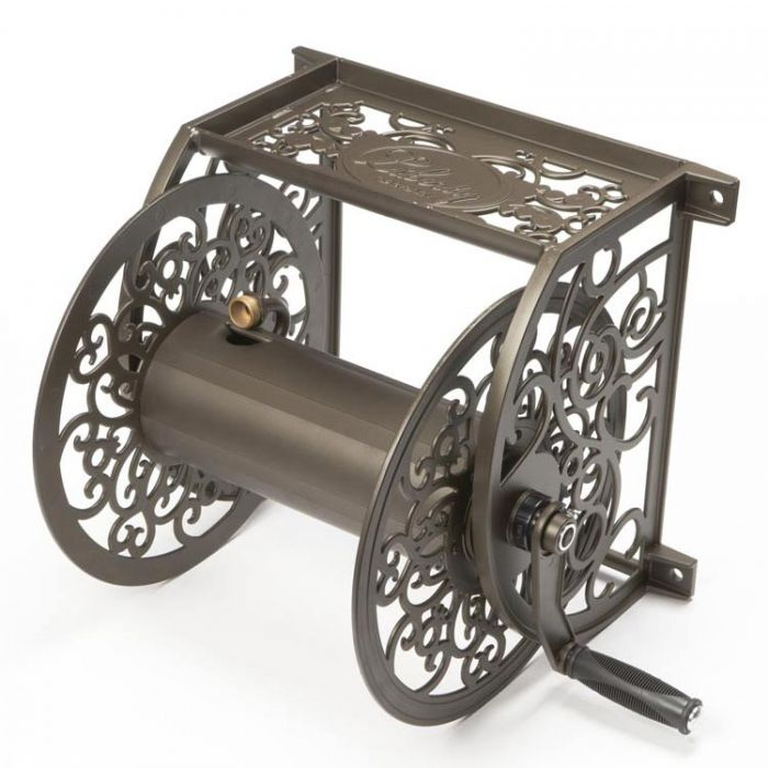 Liberty Garden Products Decorative Wall Mounted Hose Reel 705R REFURBISHED Online Hose Storage Store  sc 1 st  Liberty Garden : wall mount hose reel - www.happyfamilyinstitute.com