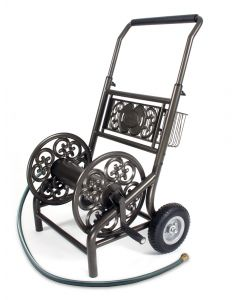 Decorative Two Wheel Hose Cart 301R REFURBISHED